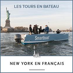 Découvrez les tours en bateau New York en français