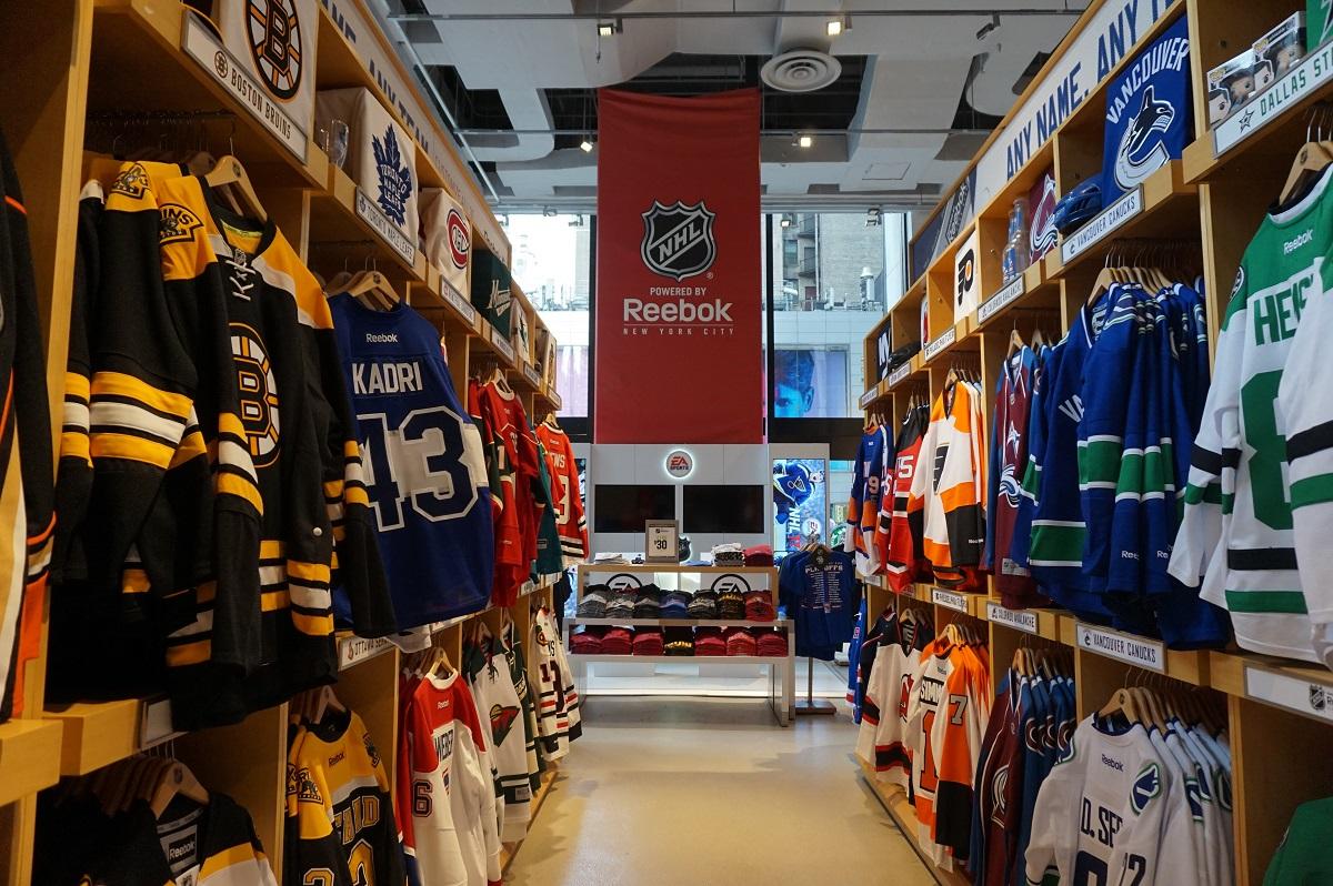 11b96c9b Le magasin NHL Powered by Reebok, pour les fans de hockey sur glace