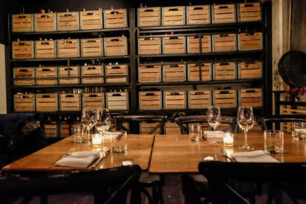 atrium dumbo restaurant brooklyn wine