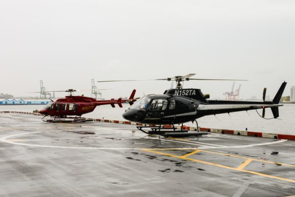 vol helicoptere new york mauvais temps