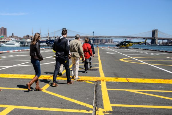 vol helicoptere new york tarmac heliport