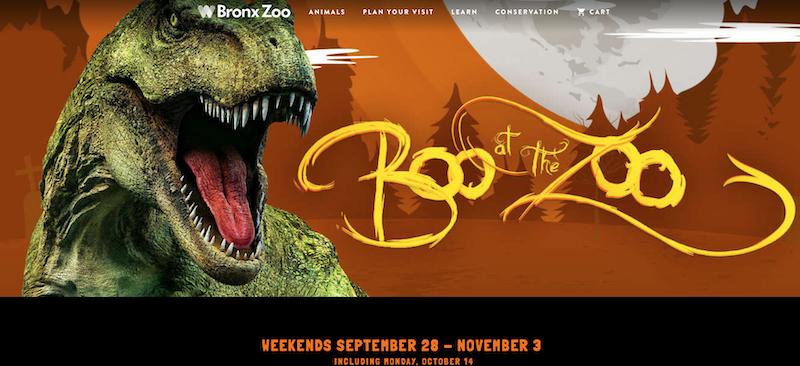 Boo at the zoo Bronx Zoo