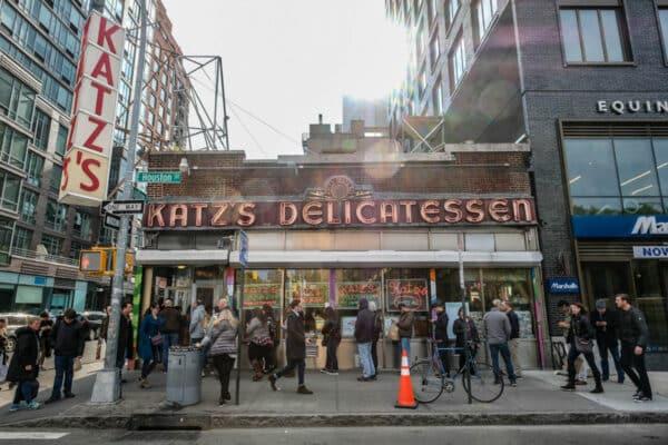 katz's delicatessen visite guidée francais