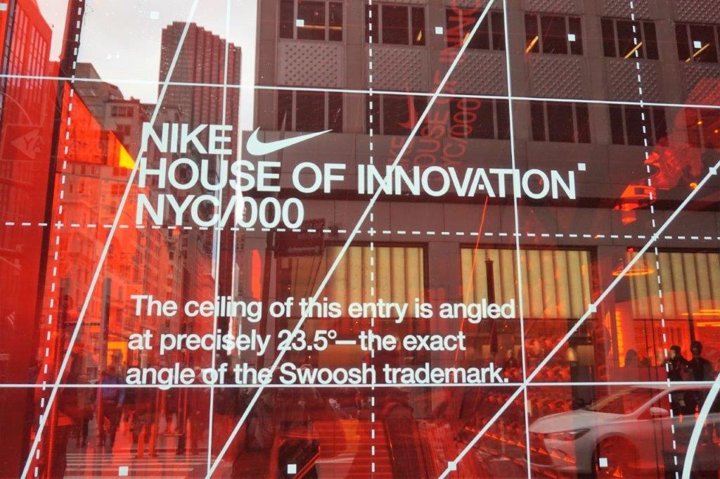 Le nouveau magasin Nike House of Innovation à New York
