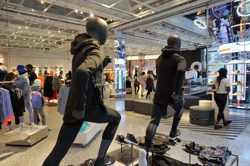 Le nouveau magasin Nike House of Innovation à New York