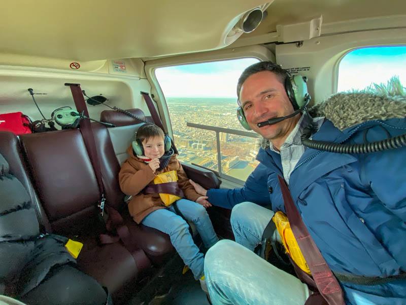 vol helicoptere new york enfant marius