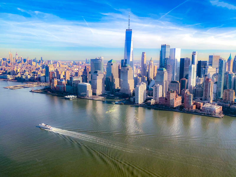 vol helicoptere new york manhattan skyline