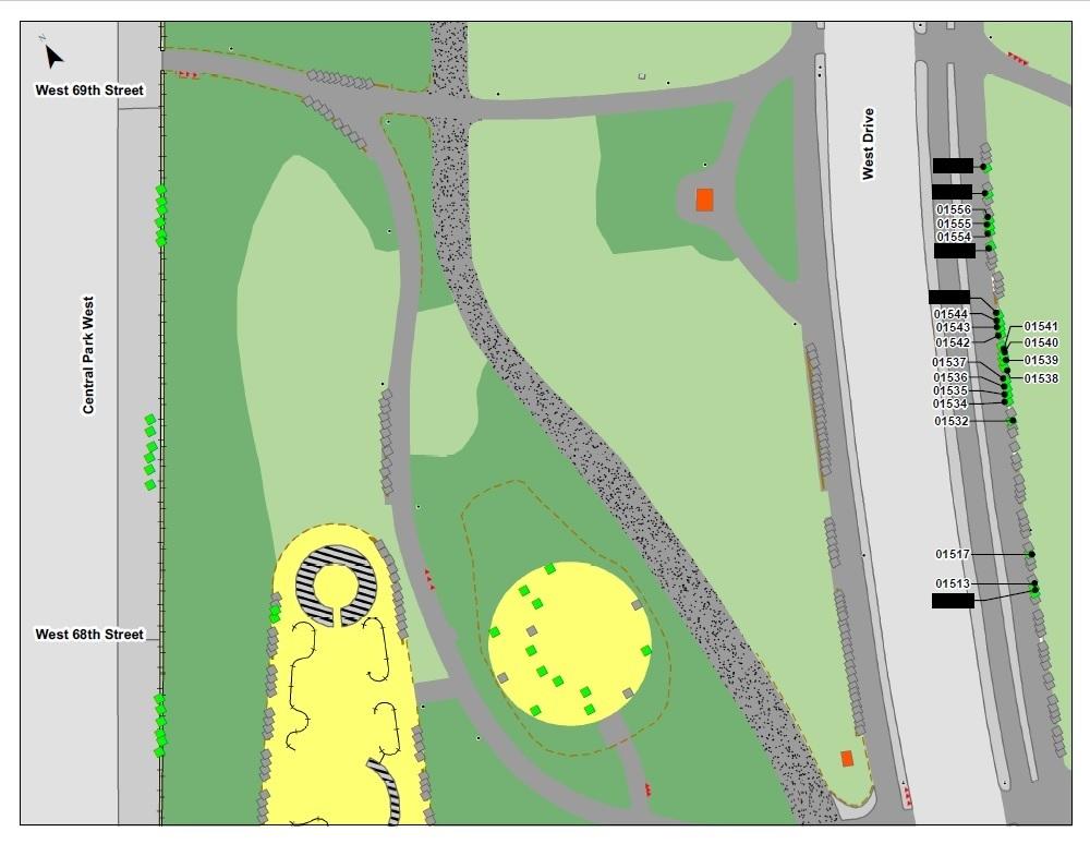adopter banc de Central Park