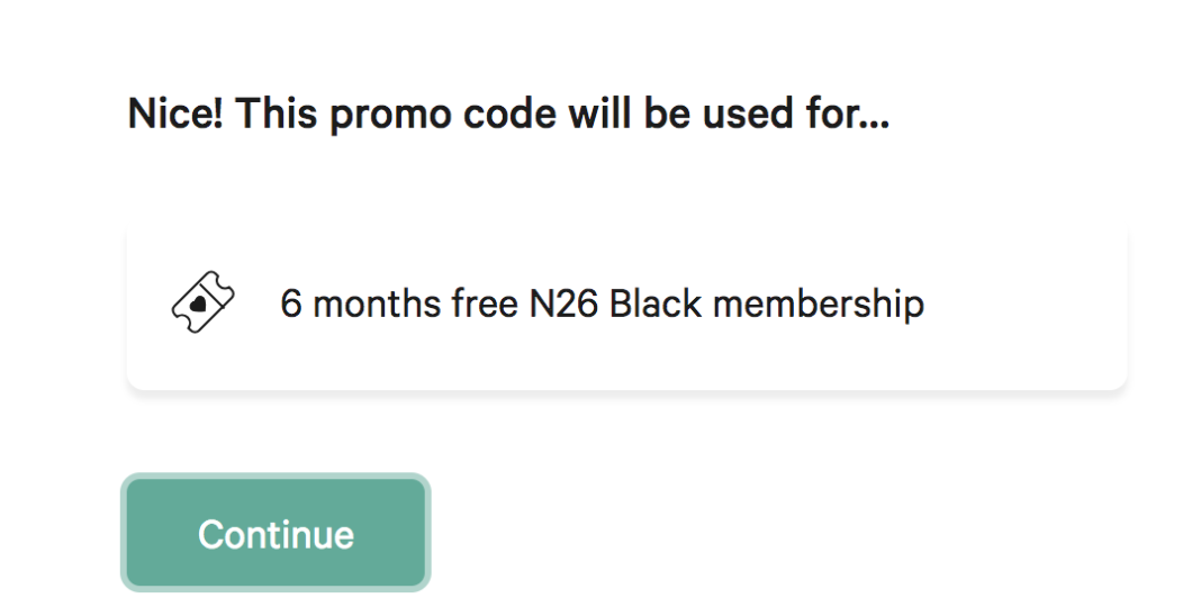 N26 Code promo