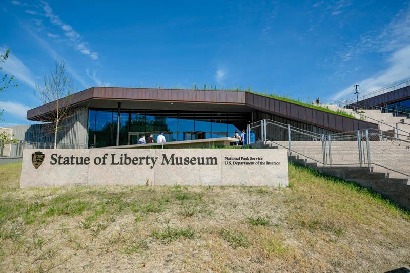 musée statue de la liberté new york
