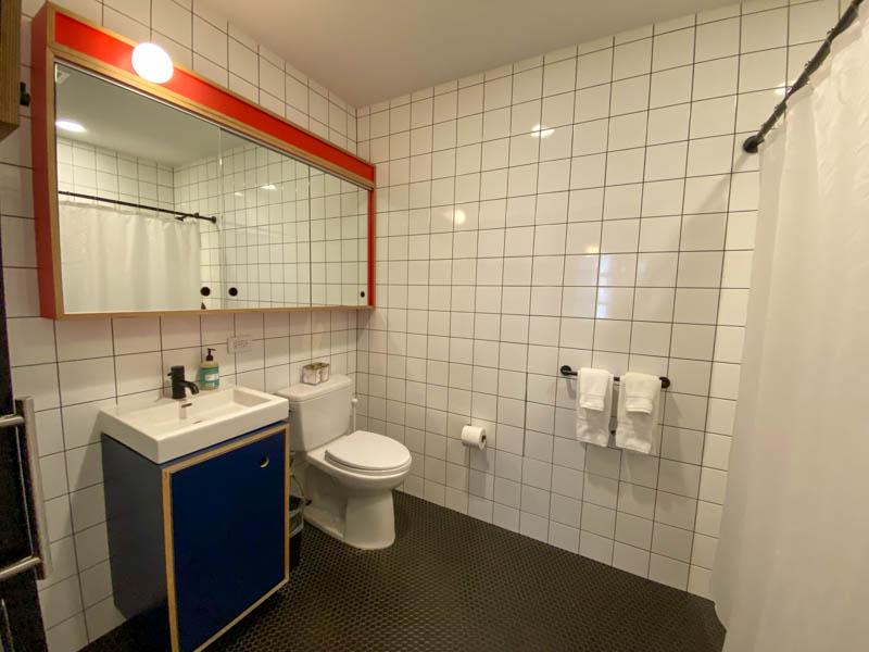 welive wall street salle de bain