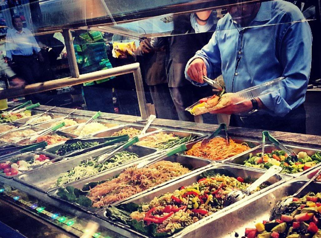 restaurant buffet libre-service deli