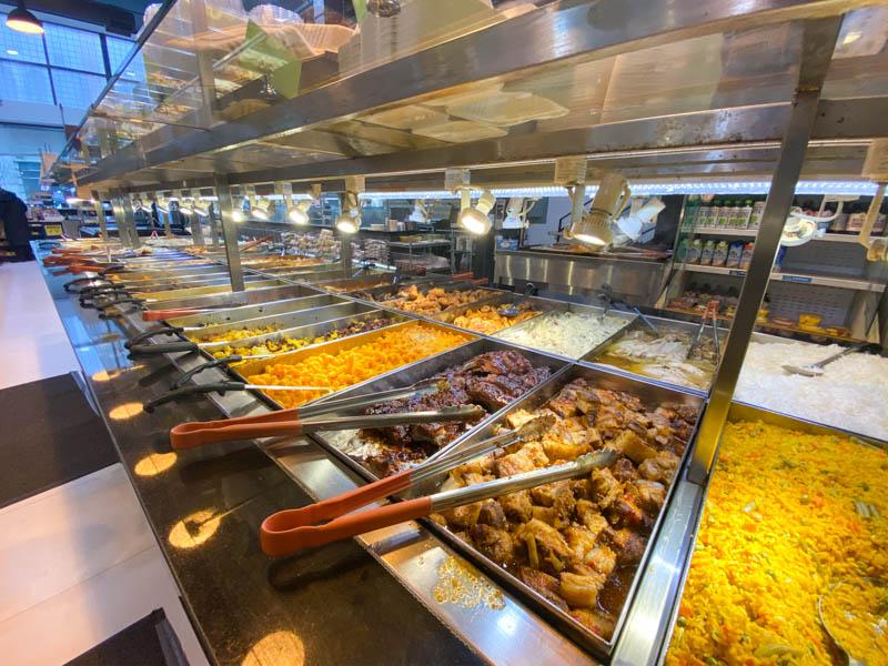 restaurant buffet libre-service