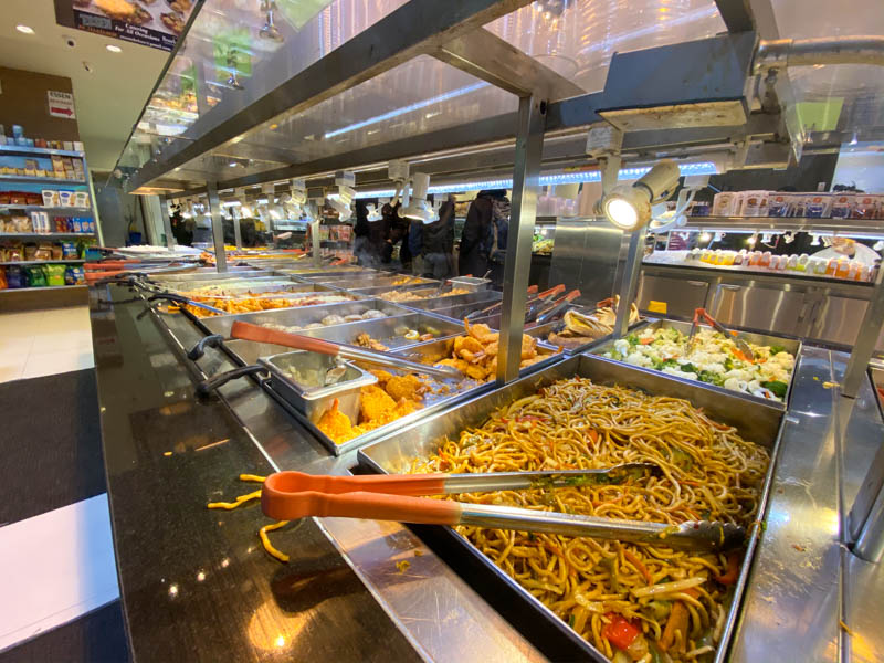 restaurant buffet libre-service essen slow fast food
