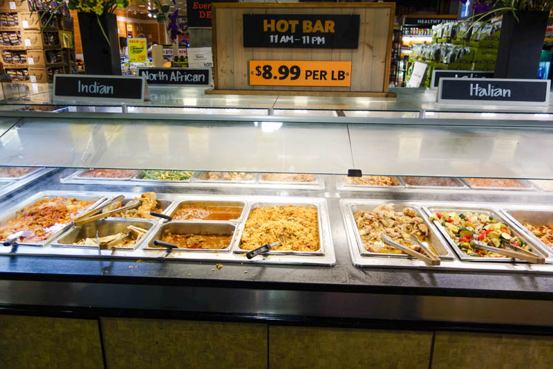 restaurant buffet libre-service whole foods market