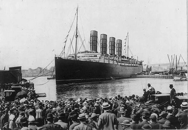 titanic bateau new york