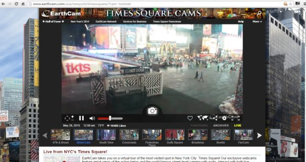 Street Cam Times Square