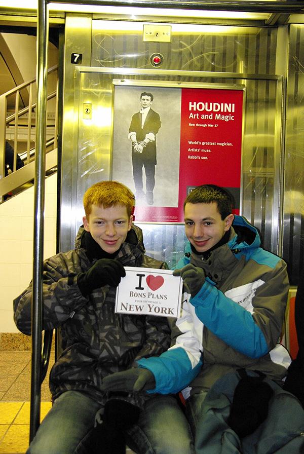 La belette dans le métro de New York - Janvier 2011