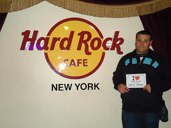 chti22 au Hard Rock Cafe de New York City