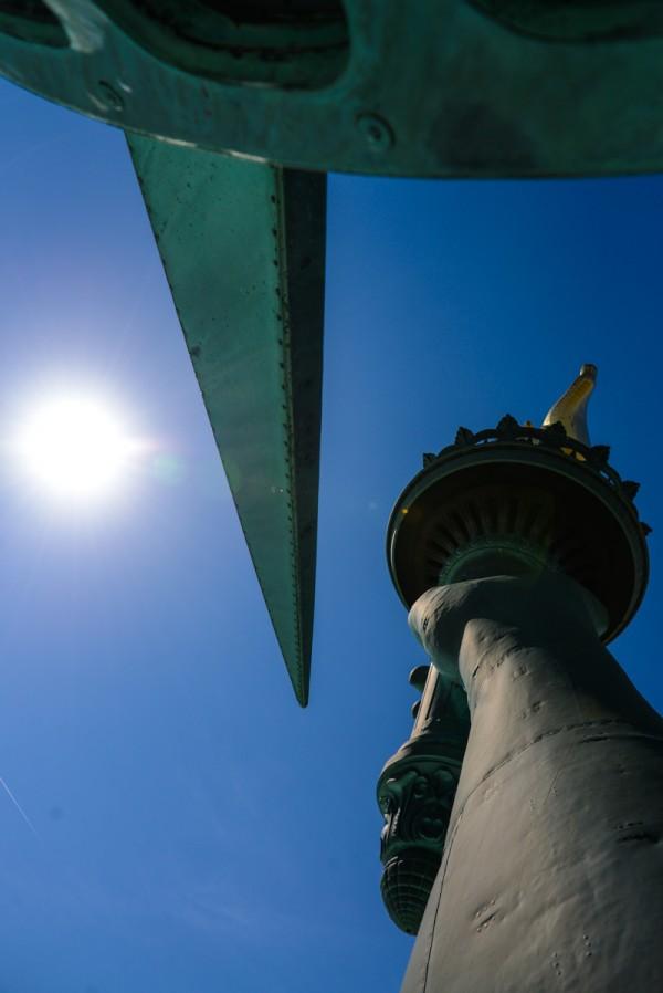 vista desde la estatua de la libertad