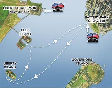 Visitez La Statue De Liberte Et Ellis Island