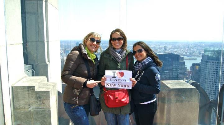 Les Bordelaises Marjorie, Emilie et Sophie au Top Of The Rock !!! - Mars 2012