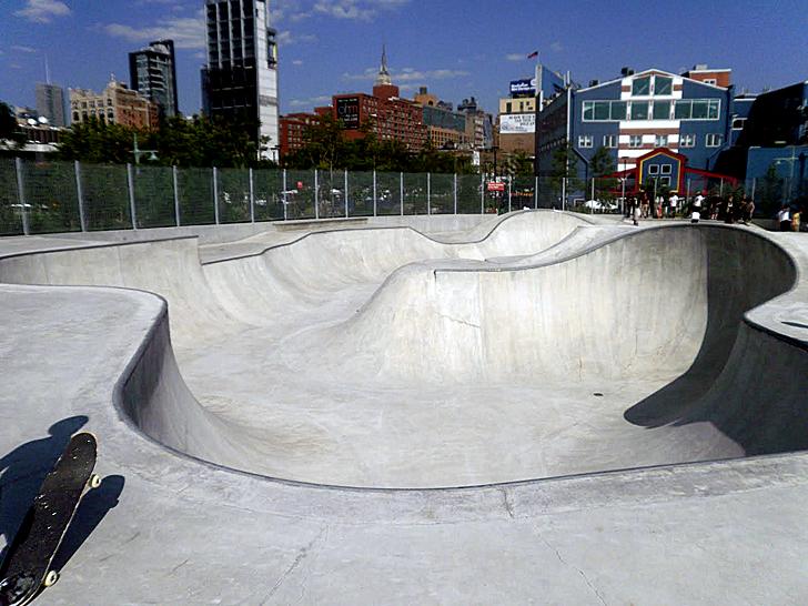 chelsea piers 62 skatepark manhattan skatepark