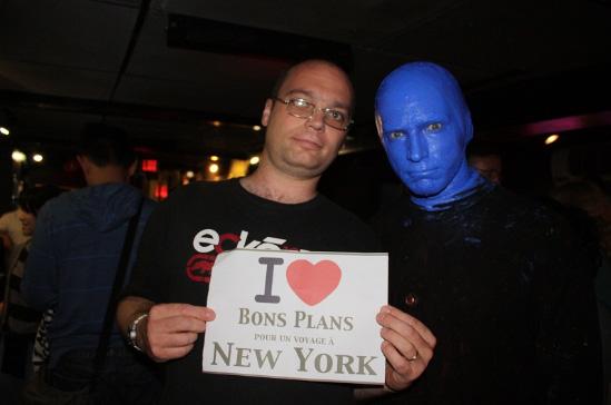 Jeanmimi & the Blue Man !!! - Septembre 2012