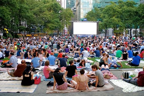 Bryant Park Summer Film Festival
