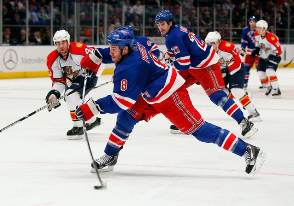 Madison Square Garden in New York City, New York. rangers hockey