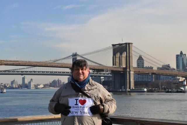 Michel sur les Brooklyn Heigths - Décembre 2012