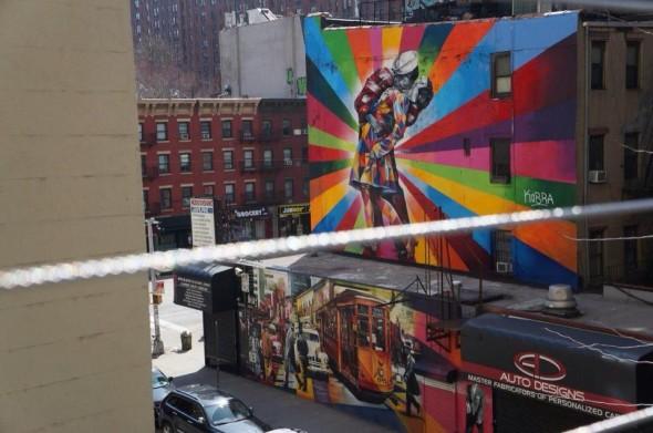Promenade sur la High Line - Avril 2013 - Mariam