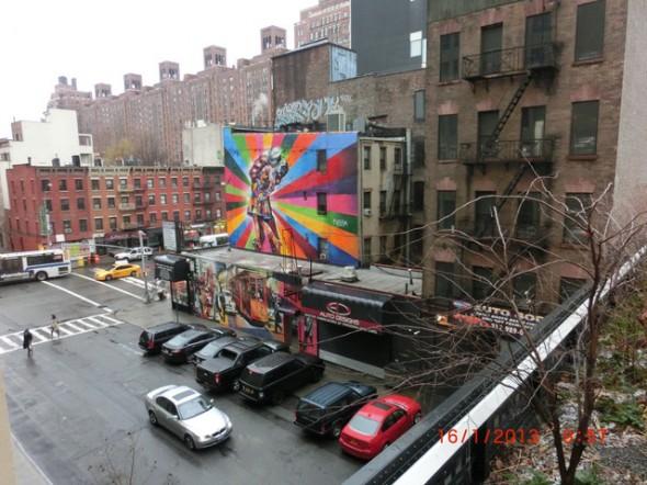 VJ Day in Times Square de Kobra