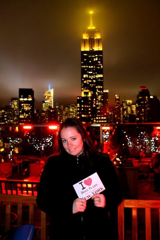 """Marynouch & son chéri au 230 Fifth Rooftop ! """"Magnifique en amoureux !!!"""" - Mars 2013"""