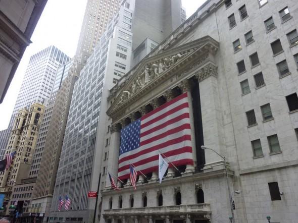 Cette photo a été prise le 12 juin 2012 et le quartier de Wall Street fut notre première vision de New-York lors de notre séjour en juin dernier - Catherine
