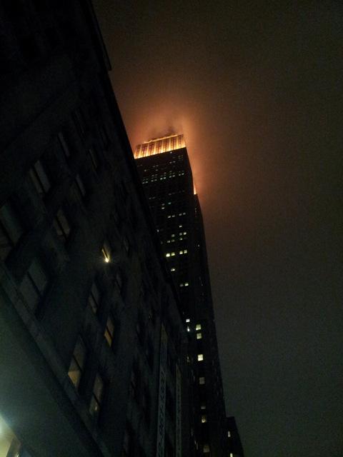 Photo de Roland prise en Janvier 2013 avec un peu de brouillard