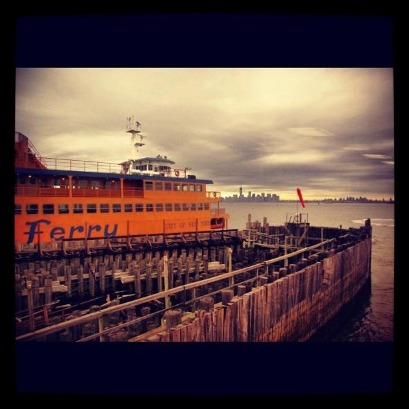 Le ferry de Staten Island pris par Isis en janvier 2013