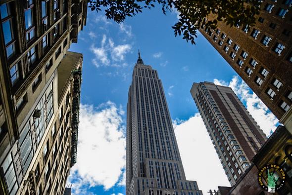 le portfolio bons plans voyage new york l 39 empire state building vu d 39 en bas. Black Bedroom Furniture Sets. Home Design Ideas