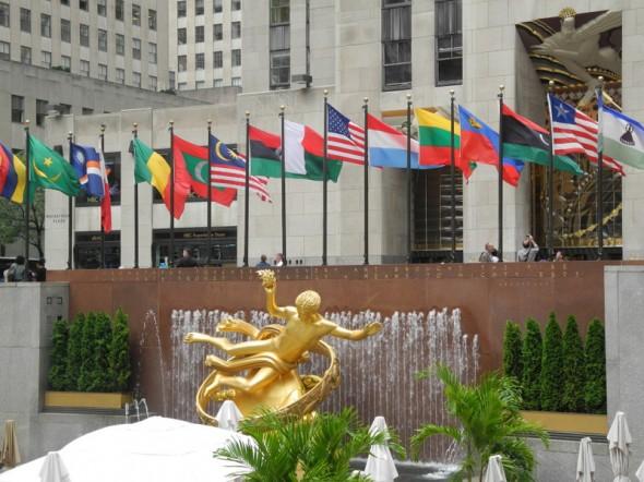 La Rockefeller Plaza - Sophie