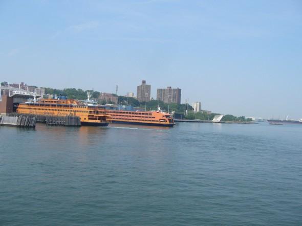 Vue à l'arrivée à Staten Island - Juin 2012 - Kate
