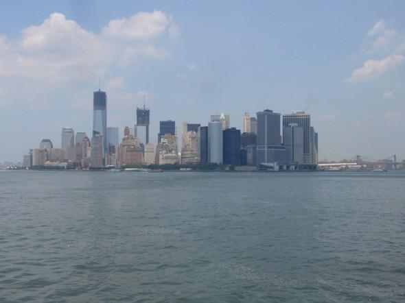 vue du bateau sur Manhattan - Juin 2012 - Kate