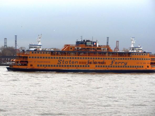 The Staten Island Ferry (décembre 2012) par Leslie B.