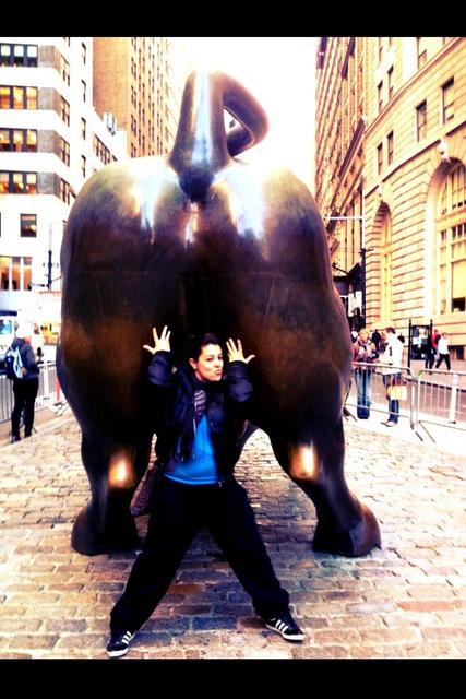 NJ Farmer & Charging Bull