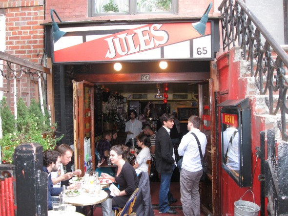 Jules bistro bons plans ny