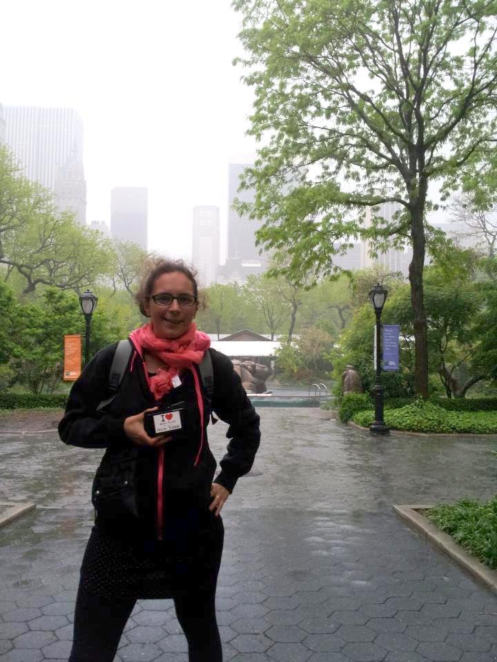 Jennifer au Zoo de Central Park - Mai 2013
