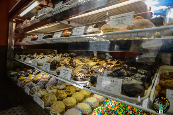 Les cupcakes de chez Crumbs Bake Shop