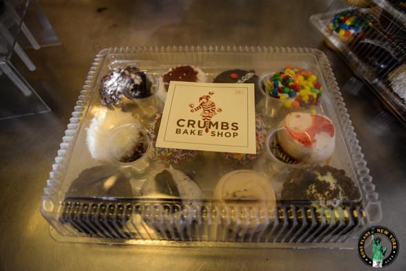 La boite de Crumbs Bake Shop