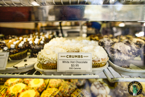 Les cupcakes de chez Crumbs Bake Shop - White Hot Chocolate
