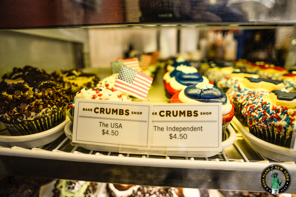 Les cupcakes de chez Crumbs Bake Shop - the USA & the Independent