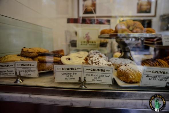 Les autres patisseries de chez Crumbs Bake Shop